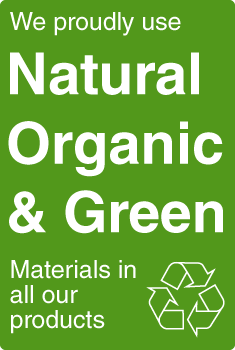 Made from Natural, Organic, and Green Materials