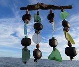 Zen Breeze Sea-Glass Wind Chime