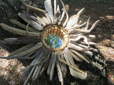 Hand-picked Driftwood Wreath