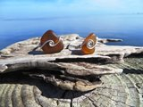 Chocolate Brown Seaglass Ring